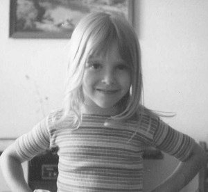 Missy Ohe as a child  PHOTO